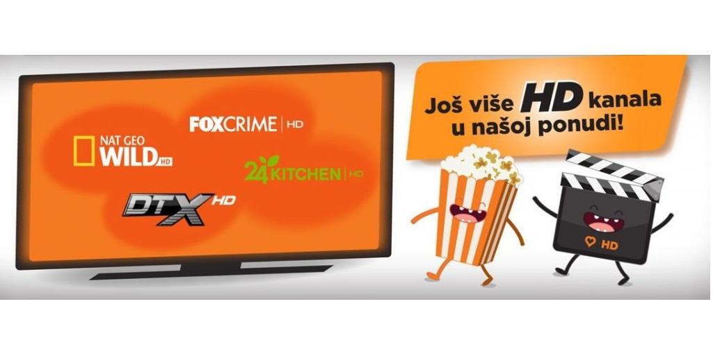 Najbolji HD kanali u Total TV paketu!